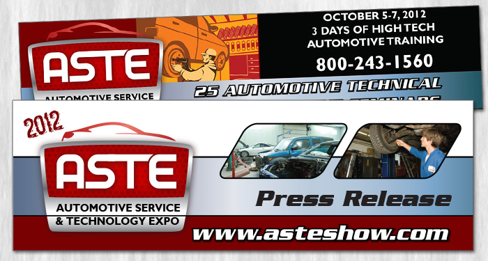 aste show press release headers