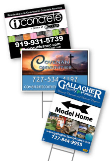 Reflective Digital Solutions, Coroplast Signs Now Available